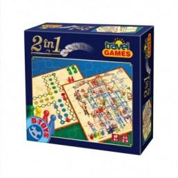 Joc 2 in 1 travel - Clasic
