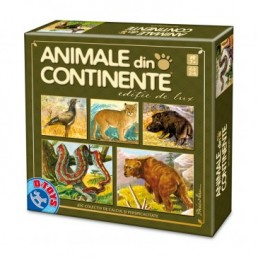 Animale din continente - editie de lux