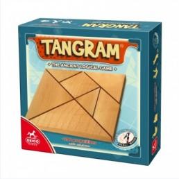 Tangram lemn