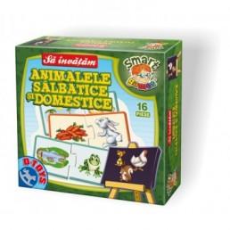 Sa invatam animale salbatice si domestice - cutie mica
