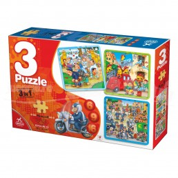Puzzle 3 in 1 Deico Games