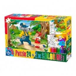 Puzzle 24 color me basme