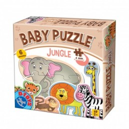 Baby puzzle jungle