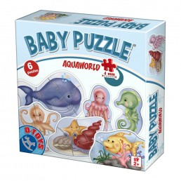 Baby Puzzle Animale Acvatice