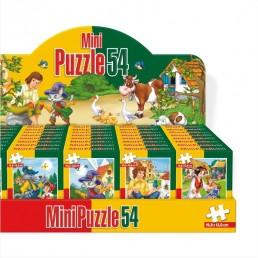 Mini puzzle 54 piese