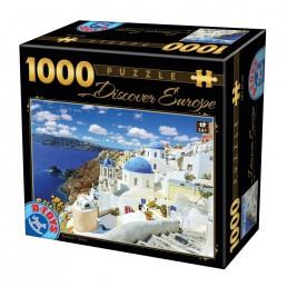 Puzzle - Descoperă Europa - 1000 Piese