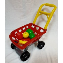 Set supermarket cu carucior si accesorii