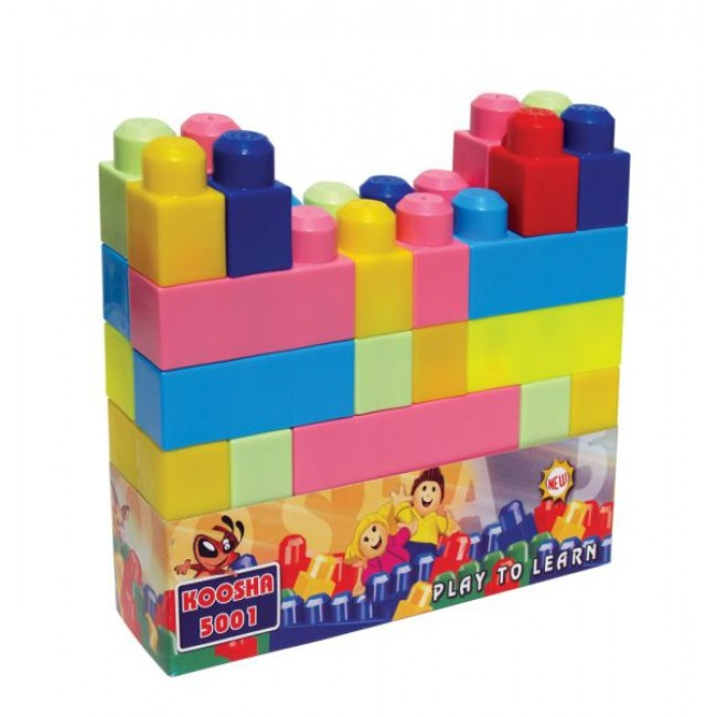Joc de construit din plastic