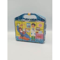 Puzzle cuburi 12 piese - diverse modele