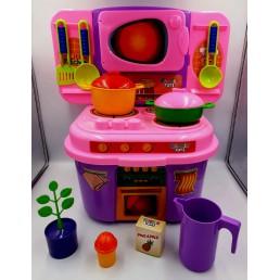 Set mobila de bucatarie si accesorii