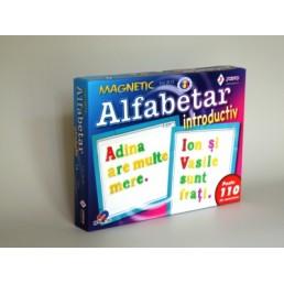 Joc magnetic alfabetar introductiv