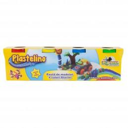 Plastelino - Set 4 tuburi de plastilina