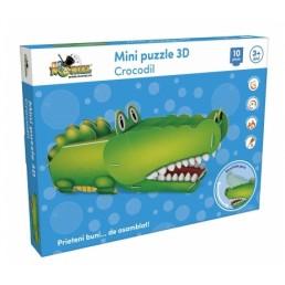 Mini puzzle 3D - Crocodil