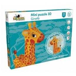 Mini puzzle 3D - Girafa