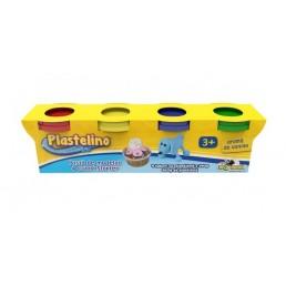 Plastelino - Pasta de modelat starter 4 culori