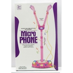 Set doua microfoane cu stativ si functii