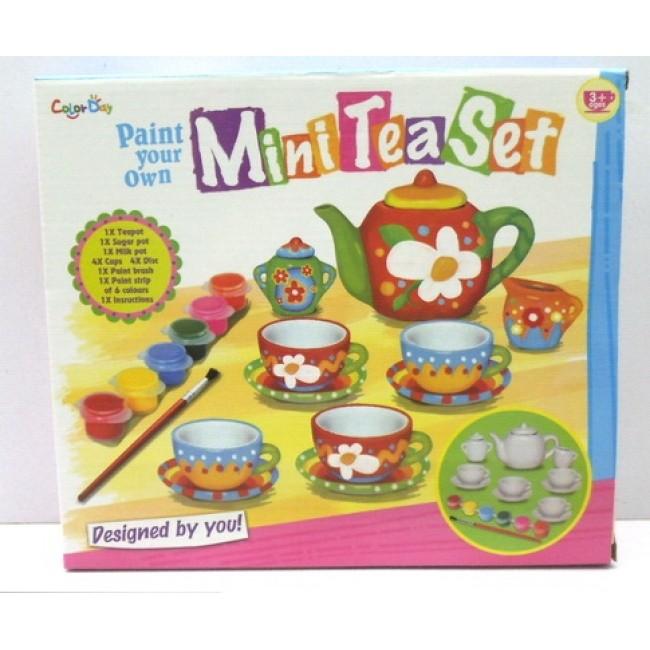 Set ceai pentru pictat