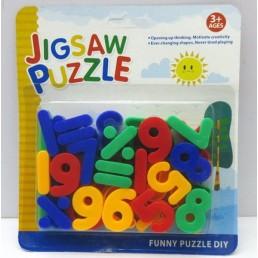 Litere sau cifre din plastic cu magnet