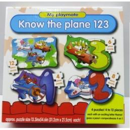 Puzzle 4 in 1 - primul meu puzzle