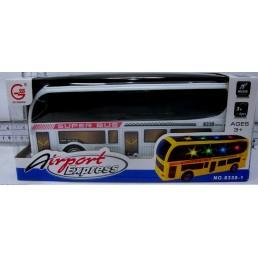 Autobuz din plastic cu baterii - 2 modele