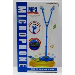 Microfon cu stativ - 2 culori