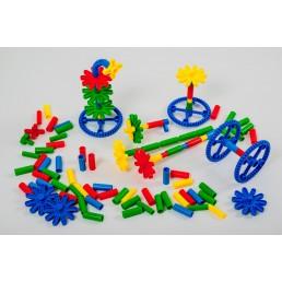 Joc de construit din plastic piese mari - 20 modele